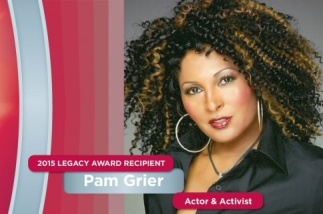 Pam Grier at #BEWPS