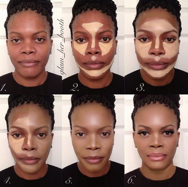 African Americans are contouring their make up to look less Black